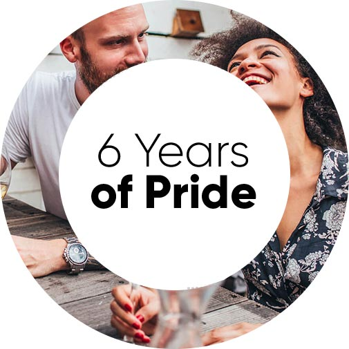 6 years of pride